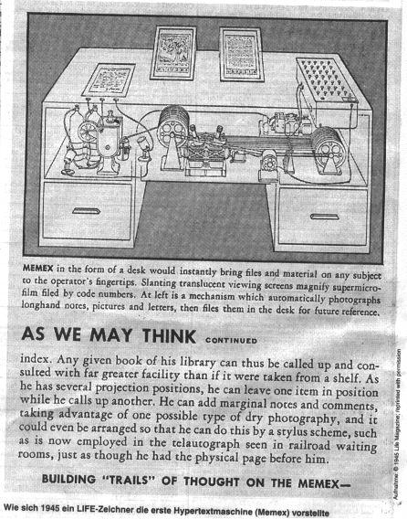 Vannevar bush 1945 essay