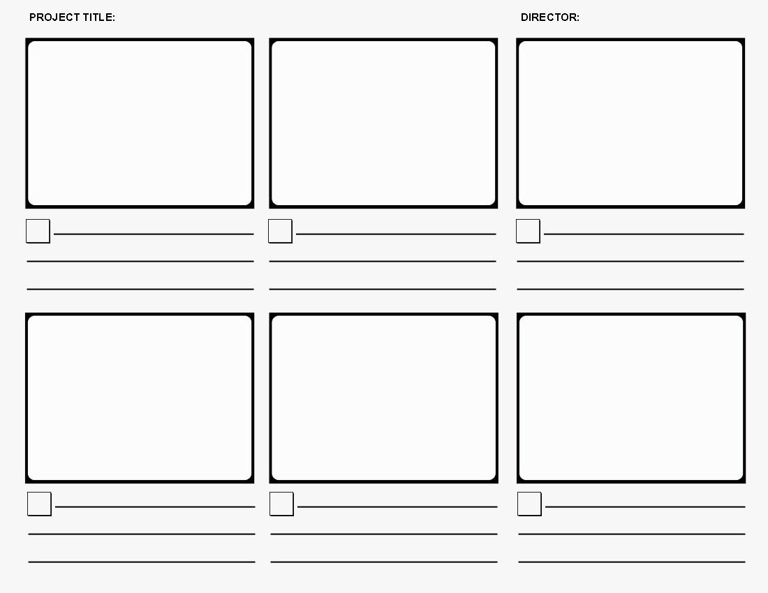 Storyboard templates networked media for Film storyboard template word
